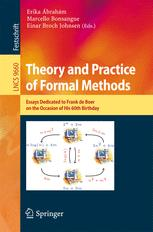 Theory and Practice of Formal Methods