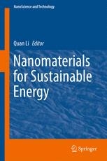 Nanomaterials for Sustainable Energy