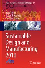 Sustainable Design and Manufacturing 2016