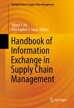 Handbook of Information Exchange in Supply Chain Management :