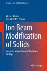 Ion Beam Modification of Solids