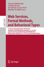 Web Services, Formal Methods, and Behavioral Types