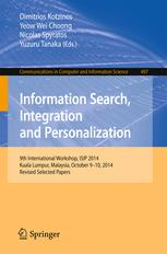 Information Search, Integration and Personalization