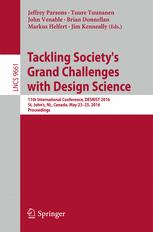 Tackling Society's Grand Challenges with Design Science
