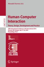 Human-Computer Interaction. Theory, Design, Development and Practice