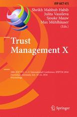 Trust Management X