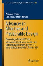 Advances in Affective and Pleasurable Design