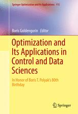 Optimization and Its Applications in Control and Data Sciences