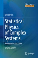Statistical Physics of Complex Systems