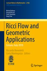 Ricci Flow and Geometric Applications