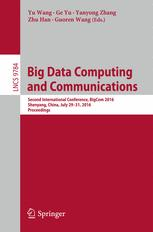 Big Data Computing and Communications