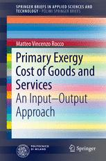 Primary Exergy Cost of Goods and Services