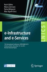 e-Infrastructure and e-Services