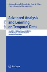 Advanced Analysis and Learning on Temporal Data