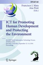 ICT for Promoting Human Development and Protecting the Environment