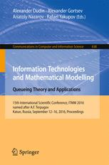 Information Technologies and Mathematical Modelling - Queueing Theory and Applications