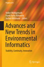 Advances and New Trends in Environmental Informatics