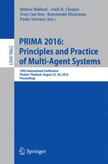PRIMA 2016: Principles and Practice of Multi-Agent Systems