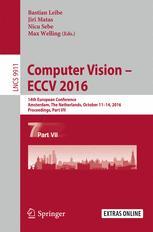 Computer Vision – ECCV 2016