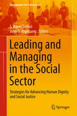 Leading and Managing in the Social Sector
