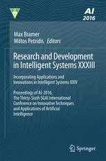 Research and Development in Intelligent Systems XXXIII