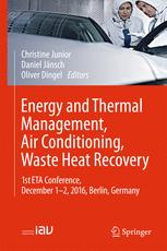 Energy and Thermal Management, Air Conditioning, Waste Heat Recovery