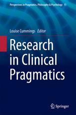 Research in Clinical Pragmatics