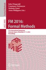 FM 2016: Formal Methods