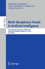 Multi-disciplinary Trends in Artificial Intelligence