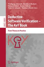 Deductive Software Verification – The KeY Book