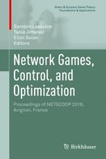 Network Games, Control, and Optimization