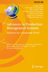 Advances in Production Management Systems. Initiatives for a Sustainable World