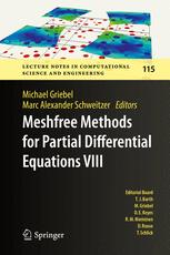 Meshfree Methods for Partial Differential Equations VIII