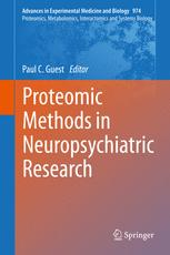 Proteomic Methods in Neuropsychiatric Research