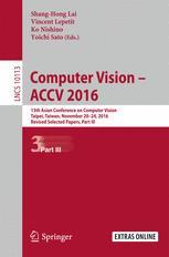 Computer Vision –  ACCV 2016