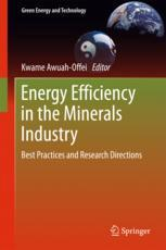 Energy Efficiency in the Minerals Industry