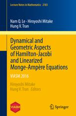 Dynamical and Geometric Aspects of Hamilton-Jacobi and Linearized Monge-Ampère Equations