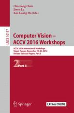 Computer Vision – ACCV 2016 Workshops