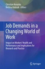 Job Demands in a Changing World of Work