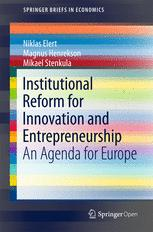 Institutional Reform for Innovation and Entrepreneurship