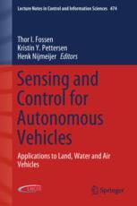 Sensing and Control for Autonomous Vehicles