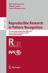 Reproducible Research in Pattern Recognition