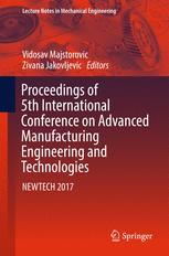 Proceedings of 5th International Conference on Advanced Manufacturing Engineering and Technologies