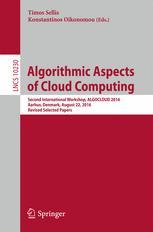 Algorithmic Aspects of Cloud Computing
