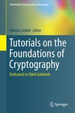 Tutorials on the Foundations of Cryptography