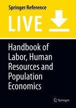 Handbook of Labor, Human Resources and Population Economics