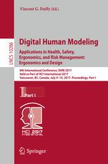 Digital Human Modeling. Applications in Health, Safety, Ergonomics, and Risk Management: Ergonomics and Design