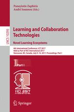 Learning and Collaboration Technologies. Novel Learning Ecosystems