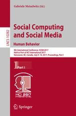 Social Computing and Social Media. Human Behavior