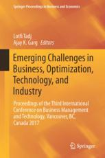 Emerging Challenges in Business, Optimization, Technology, and Industry